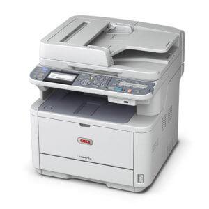 OKI MB472w 120V Wireless Mono Multifunction Printer 62444801
