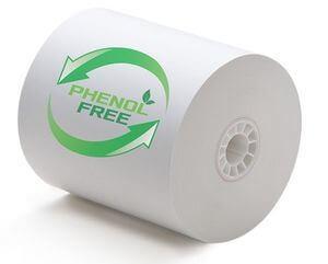 3 1 8 x 230 phenol free bpa bps free thermal paper - Team One POS