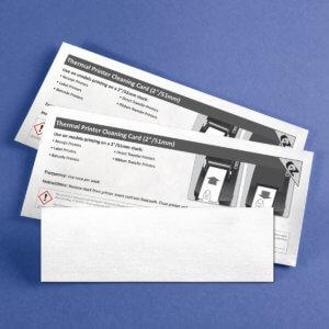 Kicteam 2″ X 6″ Thermal Printer Cleaning Card K2-T26B25