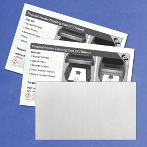 Kicteam 3″ X 6″ Thermal Printer Cleaning Card K2-T36B25