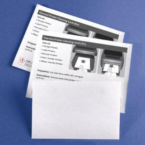 Kicteam 4″ X 6″ Thermal Printer Cleaning Card K2-T46B25