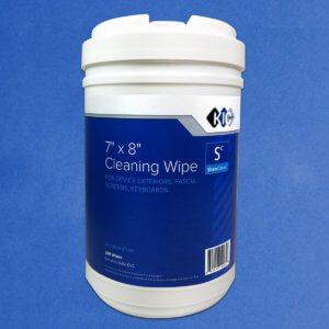 Kicteam Large 7″ X 8″ Sheer Clean Wipes K2-W02-DVC