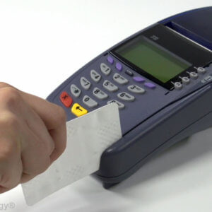 Usage Photo VeriFone Card Terminal Cleaning Card 300x300 - Team One Payment Systems