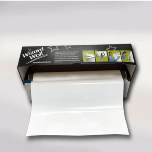 Wizard Wall 13″ White Film Dispenser With Slide Cutter WZW-1325SBW