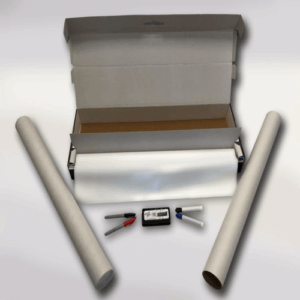 Wizard Wall All-In-One Large Whiteboard Kit WZW-3050T2W