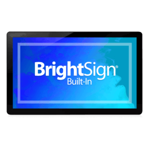 BLUEFIN 13.3″ BrightSign Display BSBI With Touch And POE+ 20-3008-1008