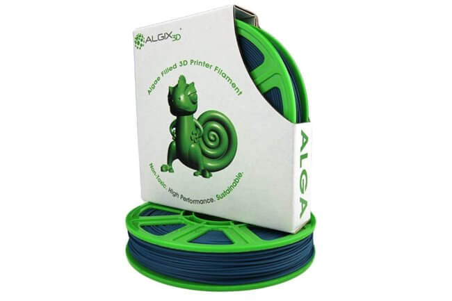 ALGA Blue 650x433 - ALGIX ALGA Algae Based Non Toxic Sustainable PLA Filaments (375g)