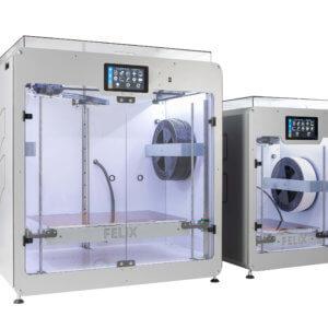 FELIX Pro L And Pro XL Large Volume 3D Printers