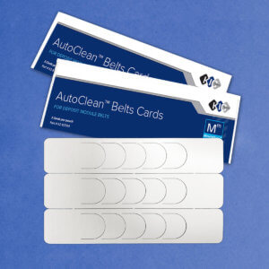 KicTeam Auto Team Belts Cleaning Cards K2-BLTB12M