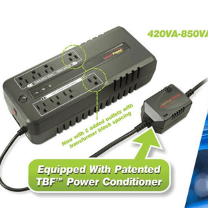 Smart Power Systems Office Plus UPS With TBF Technology Power Conditioning
