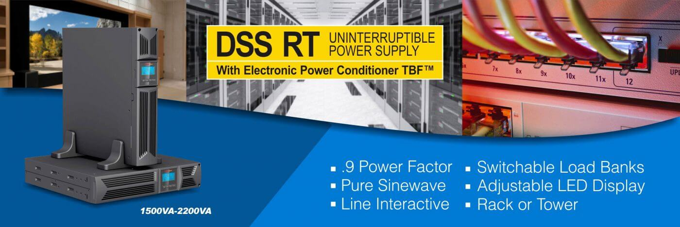 DSS banner - Pure Sinewave UPS DSS RT with TBF