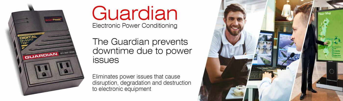 guardianbanner - Guardian - Electronic Power Conditioner