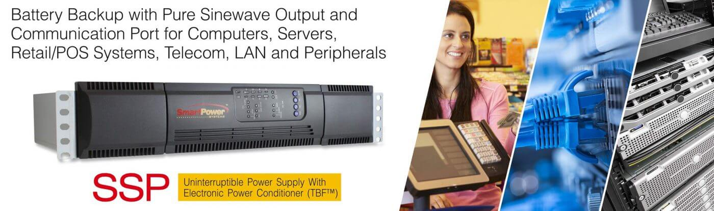 ssp banner - Smart Power Systems Pure Sinewave UPS SSP Series