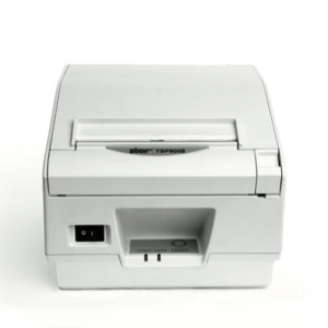 Star Micronics Thermal TSP800II Cutter, Parallel, Putty, Ext PS Needed TSP847IIC-24