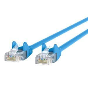 Belkin 7 Ft. CAT5e Ethernet Patch Cable Snagless, RJ45, M/M A3L791B07-BLU-S