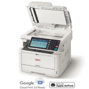 OKI MB492 120V Mono Multifunction Printer, 62444901