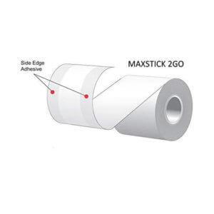 Maxstick Hold Label Paper White