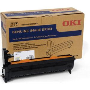 OKI 46507301 – 30K Yellow Image Drum For C612