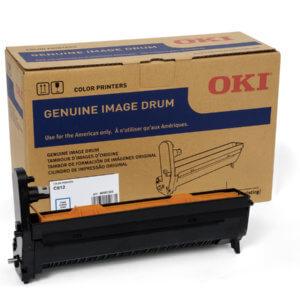 OKI 46507303 – 30K Cyan Image Drum For C612