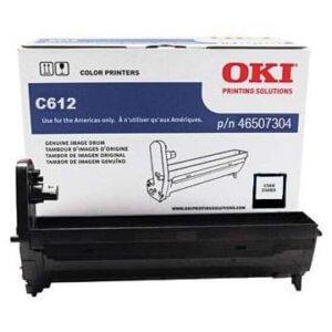 OKI 46507304 – 30K Black Image Drum For C612