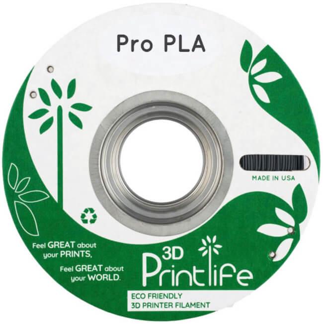 ProPLA175BLK 2 650x651 - 3D Printlife Pro PLA Filament