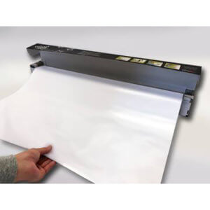 Wizard Wall 28″ Jumbo System White Film Dispenser With Slide Cutter (27.5″ X 25ft.) WZW-27540SBW