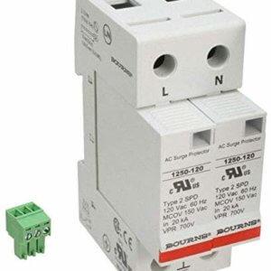 1250-2S-120 Bourns Inc. Line Protection, Distribution, Backups (1250-2S-120)