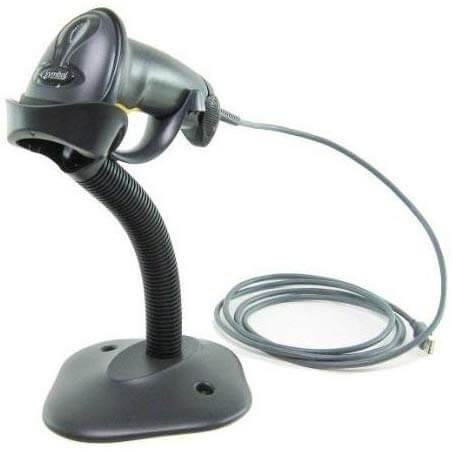 LS2208 SR007R STAND USB KIT NOB - LS2208 Digital Handheld Barcode Scanner with Stand and USB Cable