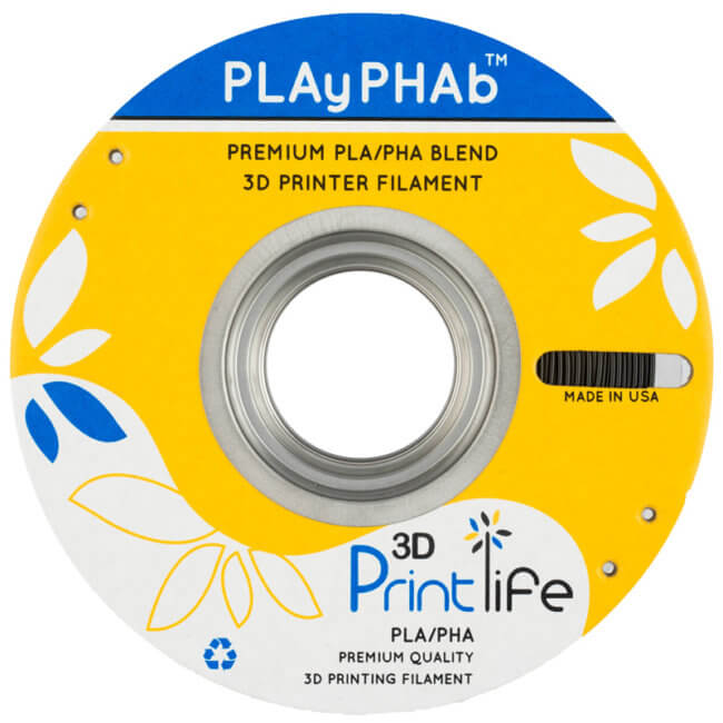 PLAyPHAb 650x650 - 3D Printlife PLAyPHAb™ High Strength PLA/PHA Filament