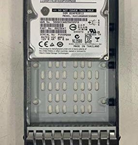 IBM 600GB 10K 6Gb SAS FRU 85Y5864 / 00L4521 2.5″ (Renewed)