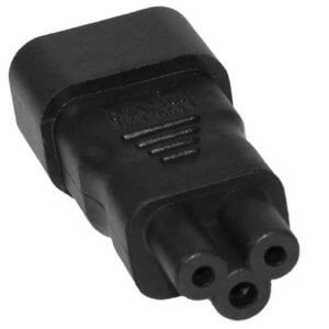 SF Cable, IEC 60320-C5 Receptacle To IEC 60320-C14 Plug Adapter        By SF Cable