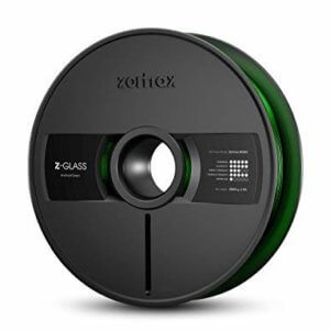 Filament Reel, ZORTRAX, Z-Glass, Android Green, 1.75MM, 2000G, OEM For ZORTRAX M300 Model