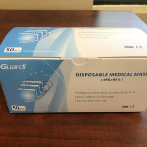 PPE Masks – Surgical Masks – 3 Ply 1 Box Of 50 Masks